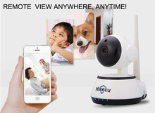 Hiseeu FH2A 720P IP Camera WiFi Wireless Smart Security Camera WI-FI Audio Record Surveillance Network Baby Monitor CCTV Camera