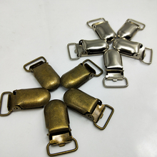 Lead Free Metal Pacifier Paci Suspensorio Suspender Clips Holders Clip Holder Cloth Accessories 15MM 50PCS/LOT