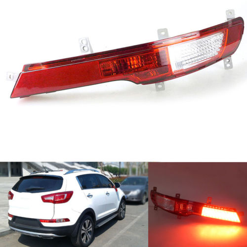 1PC Rear Bumper Fog Lamp Light Right Side For Kia Sportage R 2011-2014 1pcs new oem rh front bumper fog lamp fog light for kia sportage 2014 2015