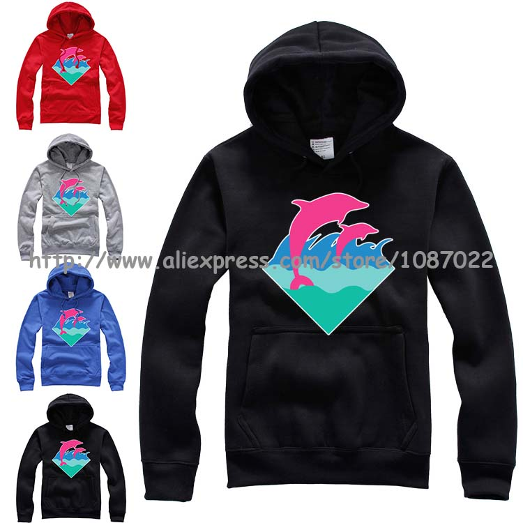 Aliexpress.com : Buy Purple Jumping Pink Dolphin Clothing ...