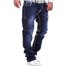 3936 2016 Designer jeans men high quality Casual Fashion Straight Pantalon homme Hip hop Biker