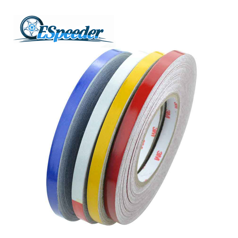 Car Styling 46M*1CM Super Reflective Strip Car Be Light Garland Luminous Stickers Body Decoration Full Reflectors car styling 5 meter reflective sticker automobile luminous strip car