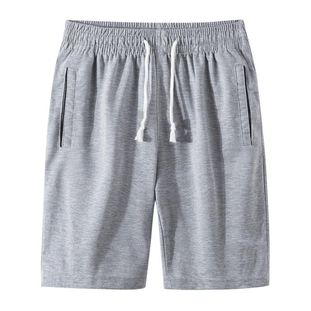 Sports Jogging Men Plus Size Solid Color Drawstring Shorts Fitness Fifth Pants Short Homme Ropa De Hombre шорты с высокой талией