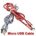 Brankbass 1 m/2 m/3 m micro usb cable de teléfono móvil de carga rápida cargador usb sync cable de datos para samsung/htc/xiaomi teléfono android