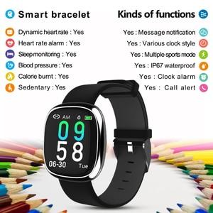 Image 2 - New Screen Activity Tracker Waterproof Smart Bracelet Blood Pressure Pedometer Smart Wristband Heart Rate Monitor  mens women