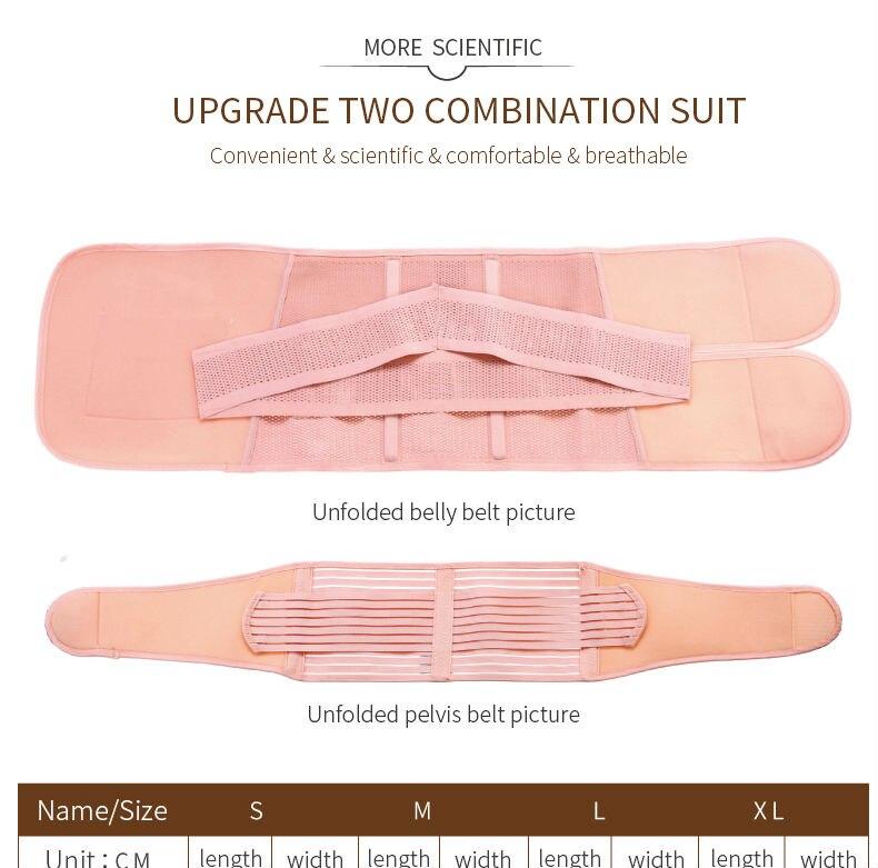 Postpartum Bandage Belly Band  8_01