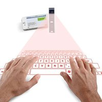 1pcs New Novelty Portable Wireless Bluetooth Laser Virtual Projection Keyboard Laser for Smart Phone Tablet PC Drop Shiping Sale