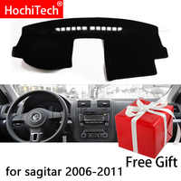 For Volkswagen Golf 5 MK5 A5 2004 -2008 Right and Left Hand Drive Car Dashboard Covers Mat Shade Cushion Pad Carpets Accessories