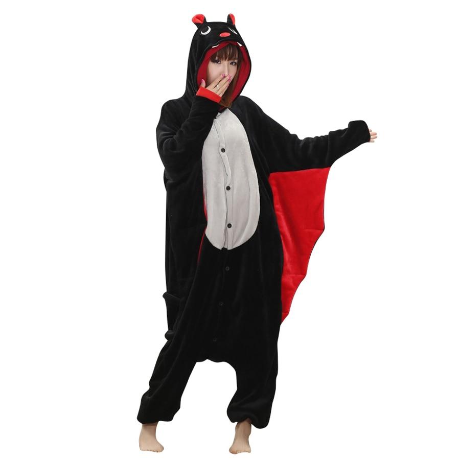 Unisex Adult Cosplay Animal Bat Costume Rompertje Pyjama Voor - Carnavalskostuums - Foto 2