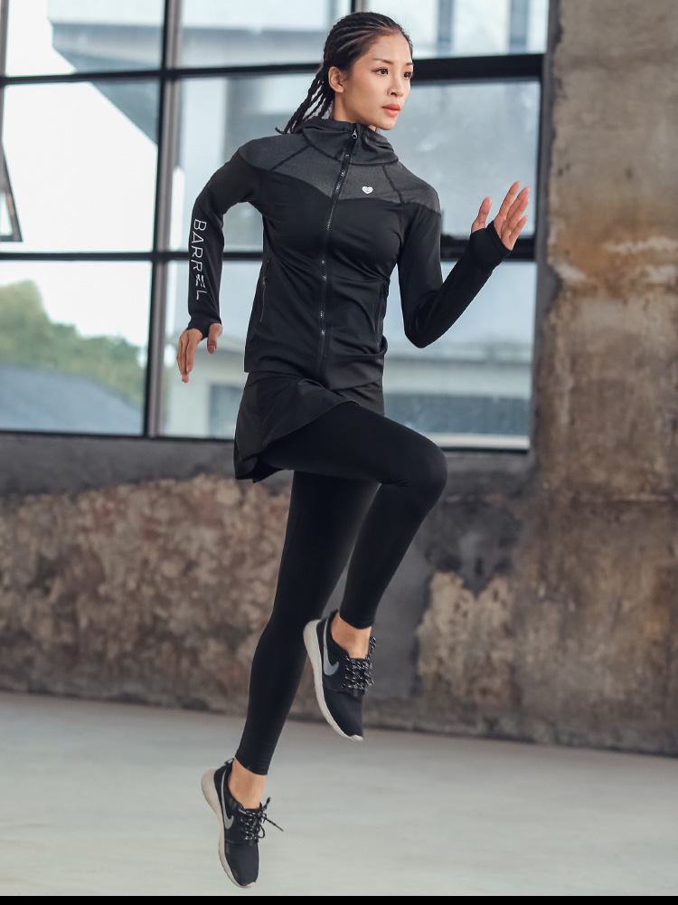 Custom Yoga/Running Jacket 15
