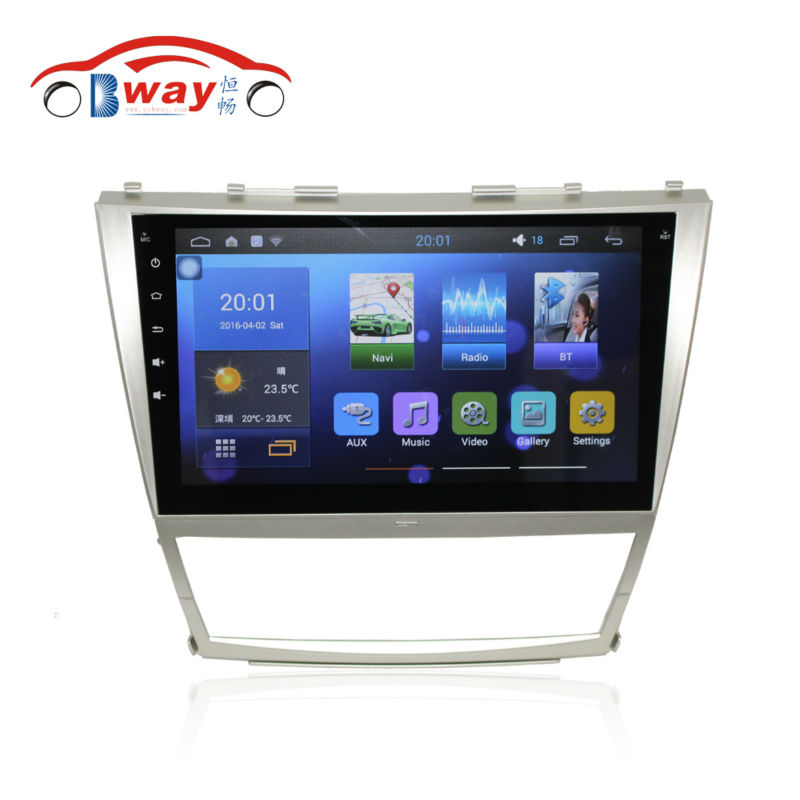 Free shipping 10 2 Car radio for Toyota Camry 2006 2011 Quadcore font b Android b