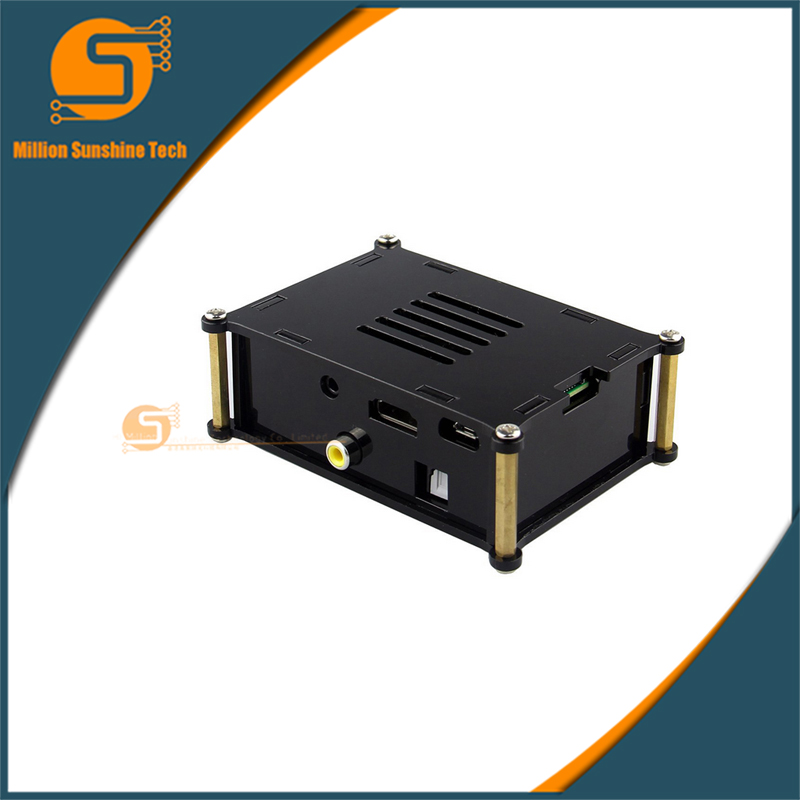 Protective Acrylic Case and Raspberry pi HIFI DiGi+ Digital Sound Card I2S SPDIF Optical Fiber Kits