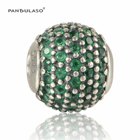 Fits Pandora Essence Charms Bracelet 925 Sterling Silver Essence Small Beads Notes Prosperity Silver Charm Women
