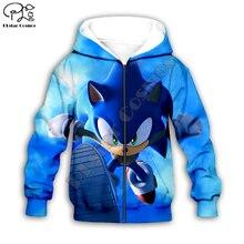 Chemises de famille Super Sonic 3d  Sweat à capuche, enfants, manteau, fermeture éclair, manches longues, dessin animé, ensemble sweat shirt, costume capuche/pantalon