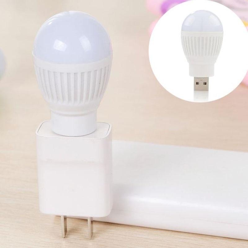 Newest Mini USB LED Light Portable 5V 5W Energy Saving Ball Lamp Bulb For Laptop USB Socket LKS99