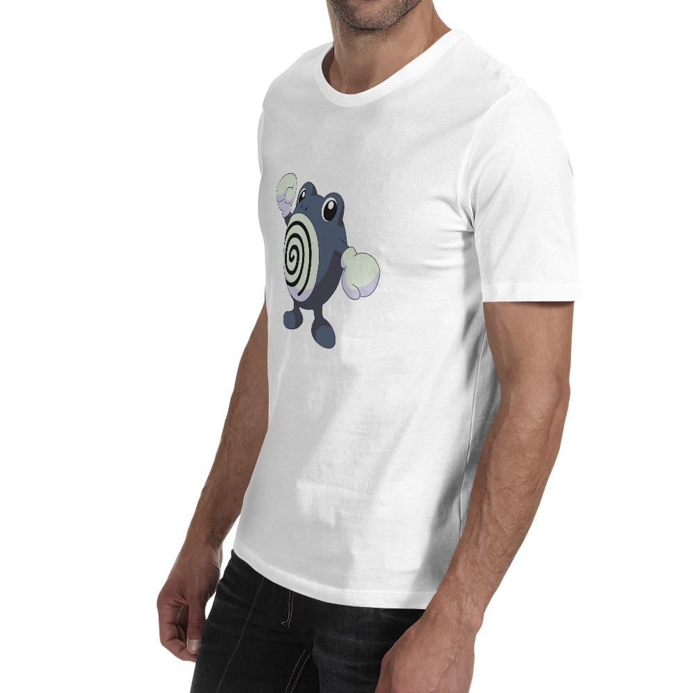 Poliwrath T Shirt Anime Video Game Fashion Print Style T shirt Design Funny Creative Unisex Tee in T Shirts from Men 39 s Clothing