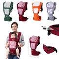 Seguro mistura de algodão respirável multifuncional frente virada baby carrier infantil sling pouch envoltório bebê confortável cintura stool-48