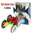 Четыре Колеса Гонки Stunt Car 4WD Дистанционного Управления RC Автомобиль СВЕТОДИОДНЫЕ Фары Экстрим Высокоскоростной 360 Градусов Прокатки Вращающихся Вращения