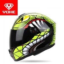 2017 новый yohe анфас мотоциклетный шлем abs мотокросс мотоциклетные шлемы модель YH-966 имеют 8 видов цветов размер Ml XL XXL