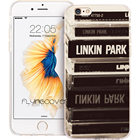Fundas Linkin Park CD Phone Cases for iPhone 10 X 7 8 6 6S Plus 5S 5 SE 5C 4S 4 iPod Touch 6 5 Case Clear Soft Silicone Cover.