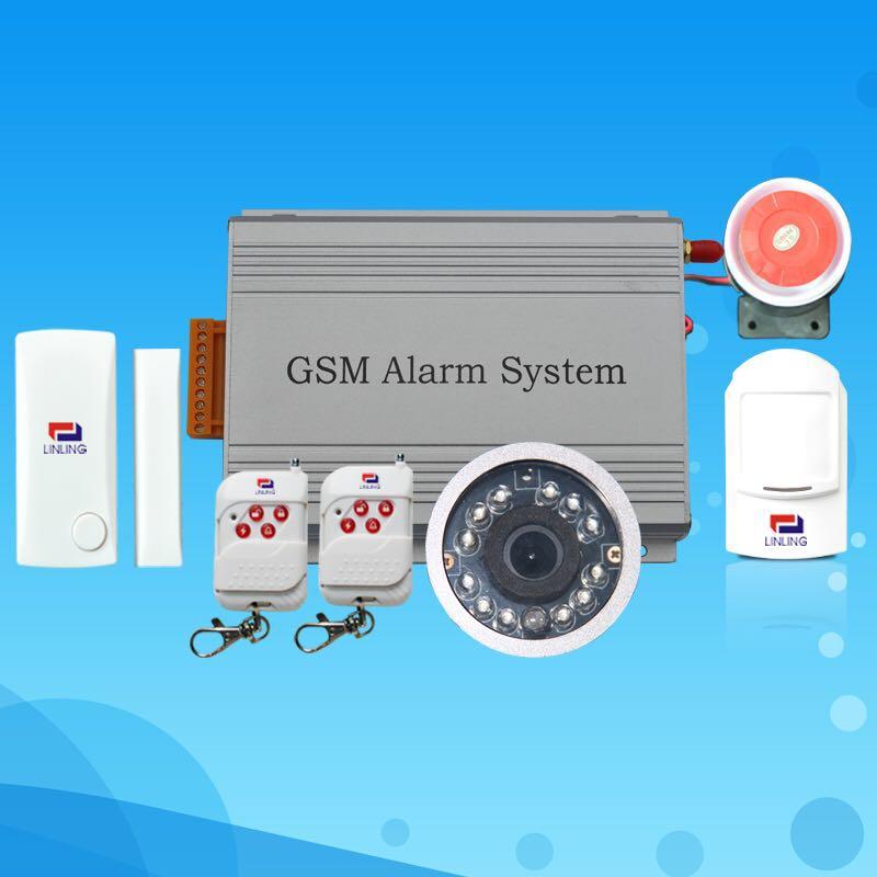 GSM MMS CDMA Wireless Burglar Alarm System