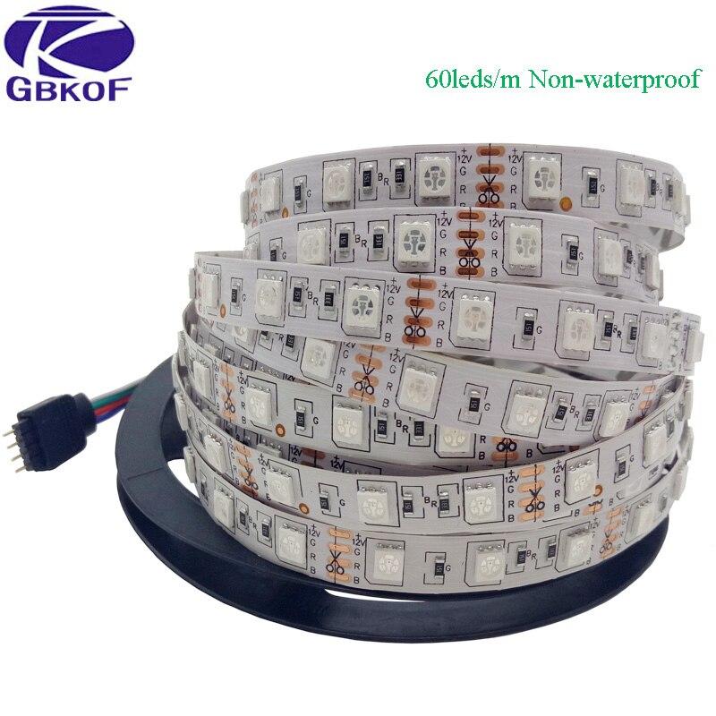 Tiras de Led m 300 leds rgb impermeável Rgb Controller : 44 Keys ir Remote Controller