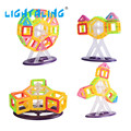 Ladrillos de juguete 60 unids mini bloque magnético magnético bloques de construcción de juguete de construcción 3d diy juguetes educativos para los niños embroma lightaling