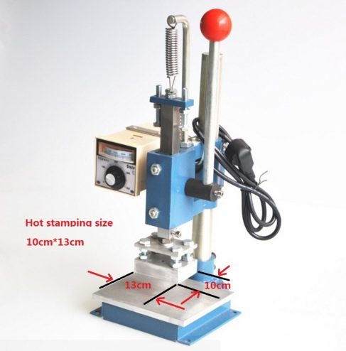 Hot foil Embossing Dies machine for leather heat embosser stamping press machine digital alphabet handheld 10X13CM 1 pcs 38 38cm small heat press machine hp230a