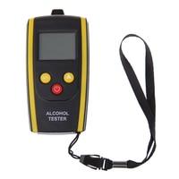 Portable LCD Digital Breath Alcohol Tester Detector With Backlight Breathalyzer Breath Analyzer High Precision Accuracy Tester