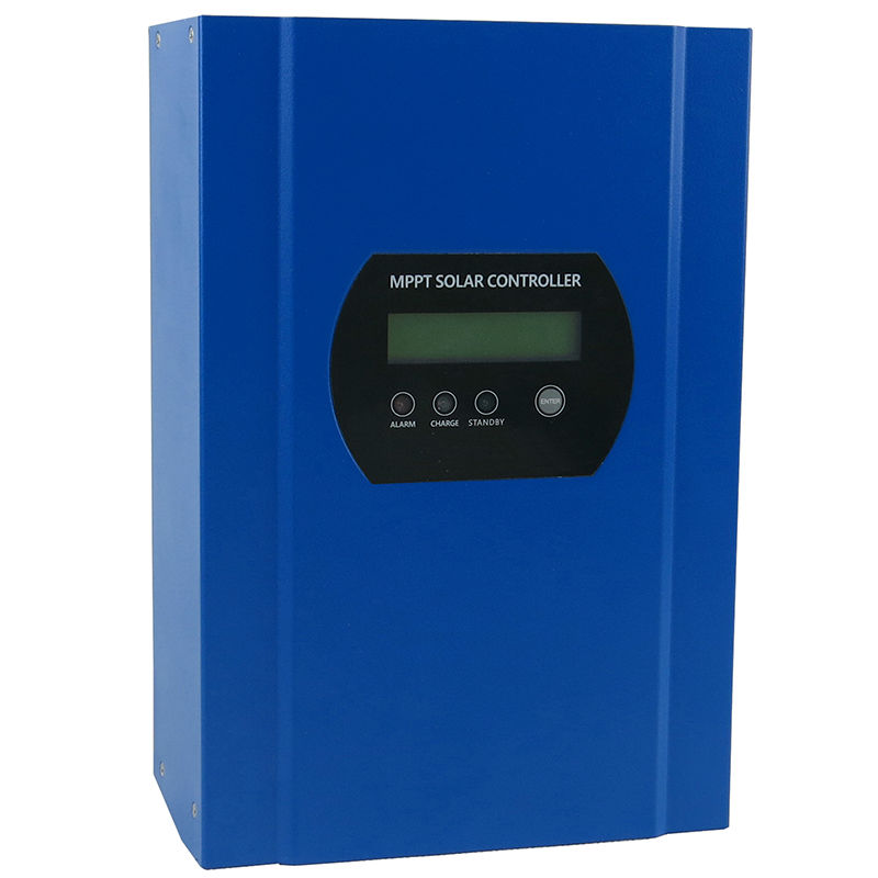 MAYLAR@ 150VDC PV input 40A mppt solar charge controller with LED display 12V/24V/48V auto Battery Charger regulator home system 20a mppt solar charge controller 96v battery regulator charger 300v pv input rs232 mppt 20a controller with lcd display
