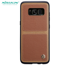 Nillkin Lichee Leather Cover For Samsung font b galaxy b font font b s8 b font