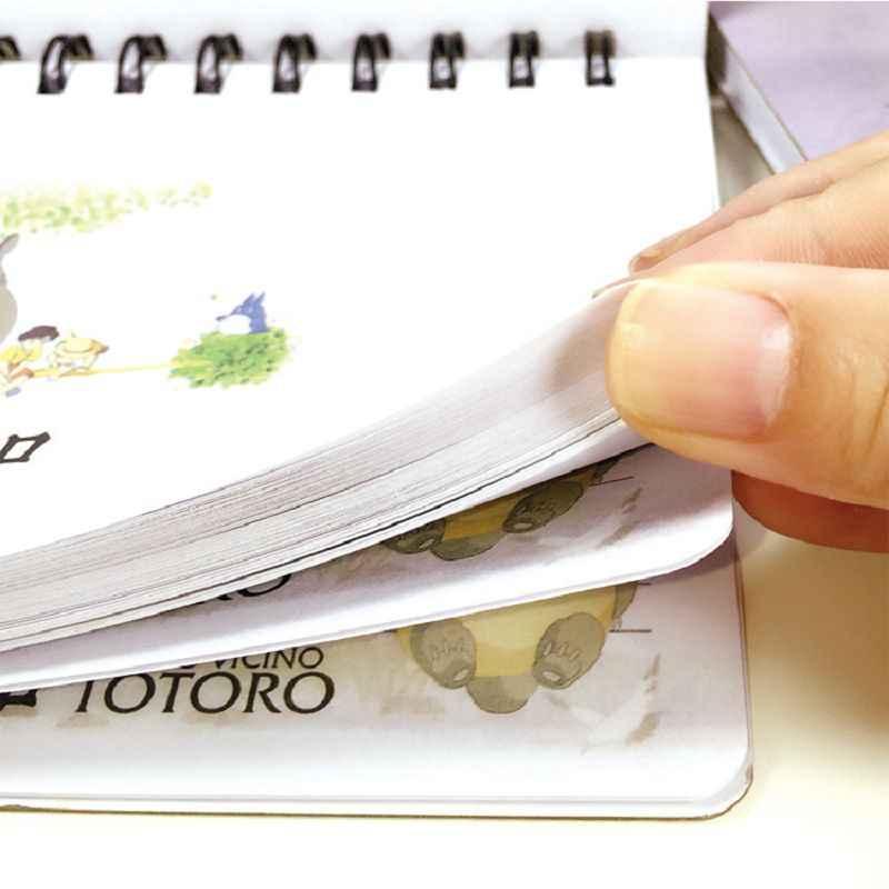 トトロアジェンダプランナーノートブック2017漫画cuadernスケッチブック材料アブラソコムツかわいい日記caderno espiral文房具cadernos