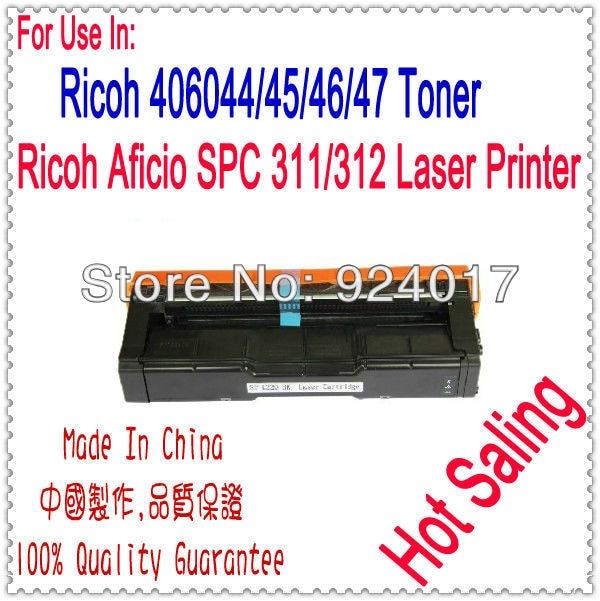 For Ricoh Aficio SP C311N C312DN SPC311N SPC312DN Toner Cartridge,For Ricoh SP C311 C312 SPC311 SPC312 SPC 311 312 Toner Refill powder for ricoh ipsio c 242sf for ricoh sp c 231 n for ricoh aficio sp c232 dn office parts printer cartridge digital copier