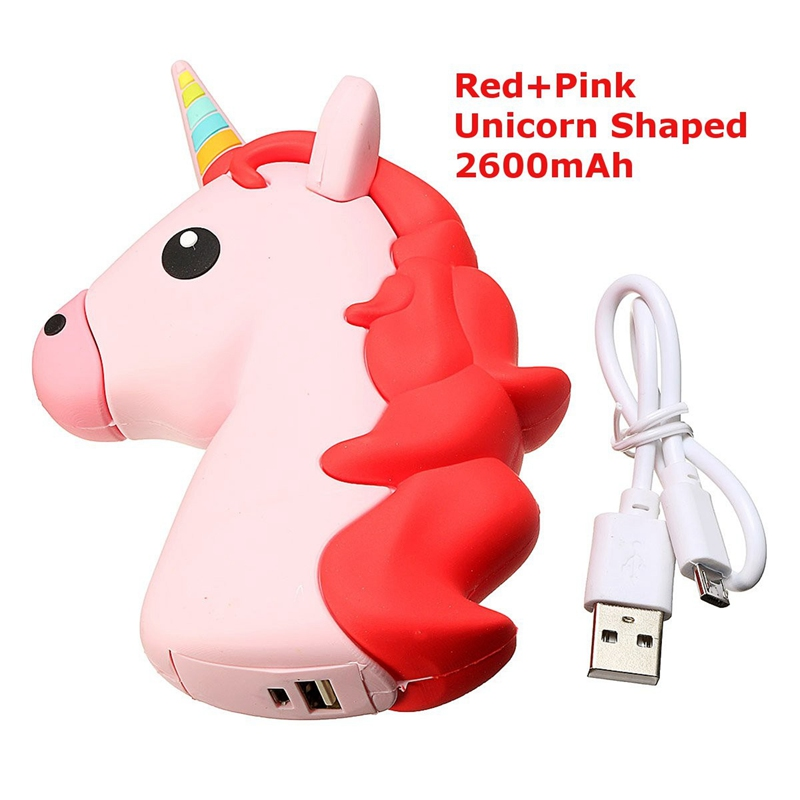 HTB1u6NQPXXXXXcVXXXXq6xXFXXX4 - Universal Unicorn Shaped Backup Battery 2600mAh Charger Power Bank Charging For iPhone For Samsung Smart Phones Power Supply