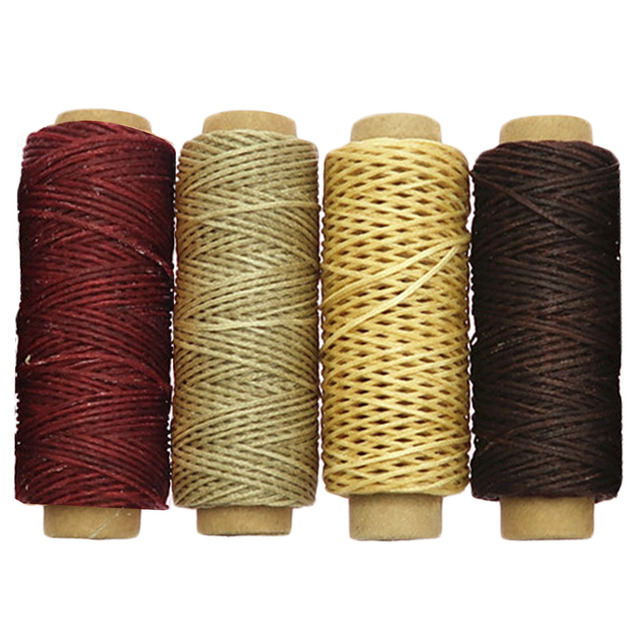 8 Roll 30m Assorted Colors 150D Waxed Thread Cord for luggage Wallet Shoes Tents Carpets Saddles Canvas Coats Leather Repair