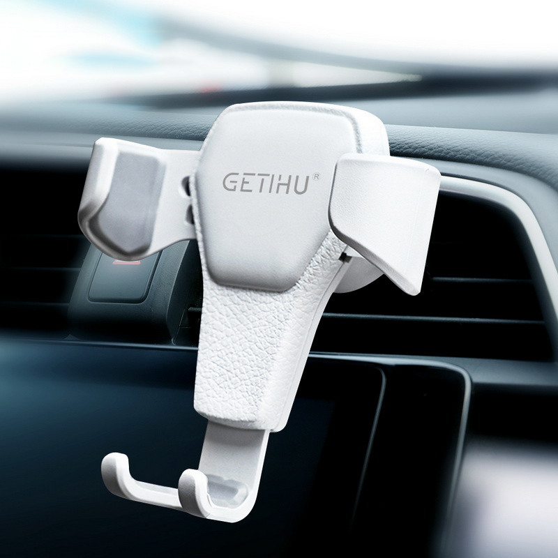 GETIHU Gravity Car Holder Air Vent Clip Mobile Phone Mount No Magnetic For Phone in Car Holder Cell Stand Support For iPhone X 7