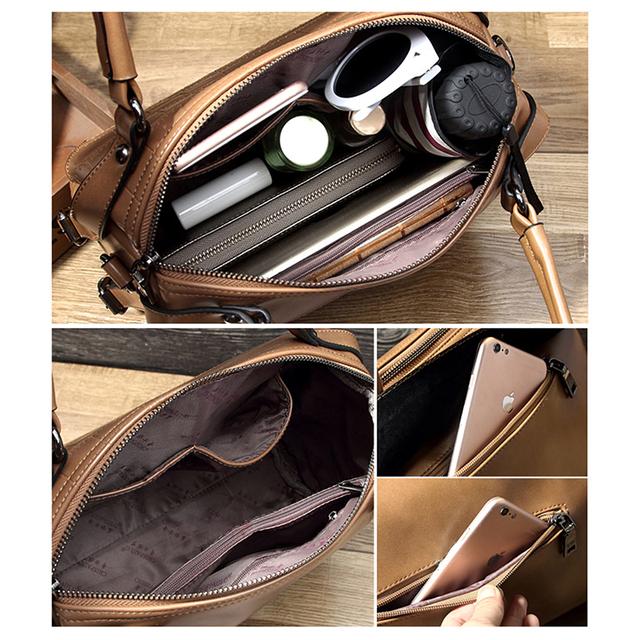 Tinyffa 2017 Luxury Handbags Women Bags Designer Famous Brands Ladies Hand Bags Shoulder Crossbody Messenger Bags Leather Tote