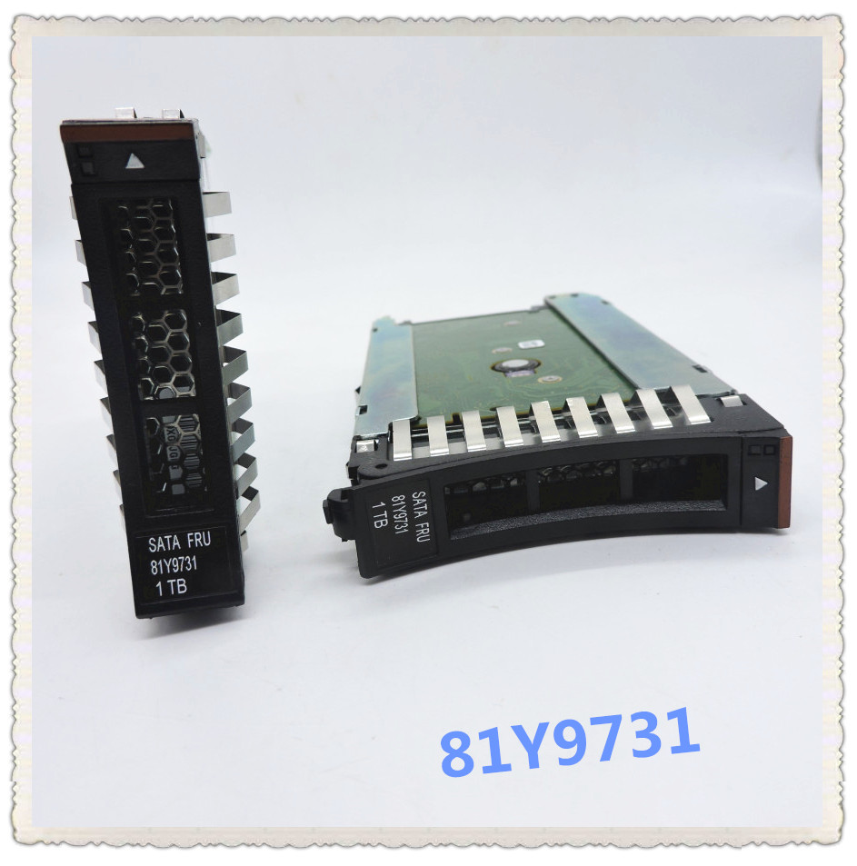 81Y9730 81Y9731 1TB 7 2K SATA 2 5inch 3650M4 Ensure New in original box Promised to