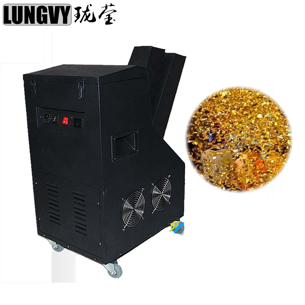 Free Shipping 1000w Confetti Cannon Shoot Coverage Height 8 Meter Wedding Confetti Machine Stage Light