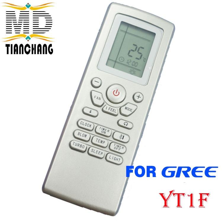 US $7 3 14% OFF|New Yt1f For Gree Mcquay Aermec Ymgi Airlux Trane  Electrolux Air Conditioner Remote Control Yt1f Yt1ff Yt1f1 Yt1f2 Yt1f3  Yt1f4-in