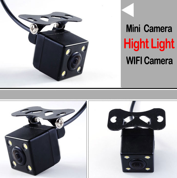 Car Rear View Reverse Parking Safety Assistance Drive Camera With Night Vision Function Universal All Fit