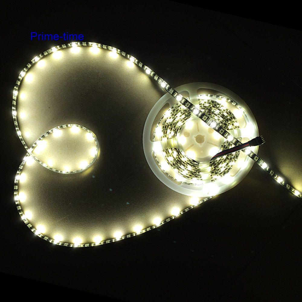 Қара түстегі PCB 5M RGBW RGBWW RGB + (жылу / суық - LED Жарықтандыру - фото 4