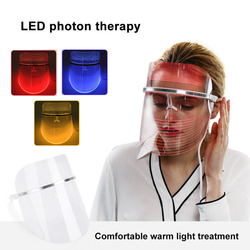 LED Light Photon Face Mask Skin Rejuvenation Wrinkle Removal Facial Spa Anti Wrinkle Removal Spot Face Spa Skin Whitening Salon