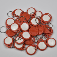 100pcs T5577 EM4305 Copy Rewritable Writable Rewrite Duplicate RFID Tag Can Copy EM4100 125khz card Proximity Token Keyfobs