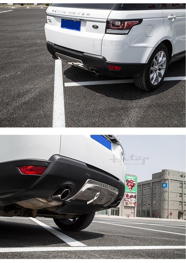 vordere u. hintere Stoßschwellenabdeckung / Gleitplatte für Range - Autoteile - Foto 6