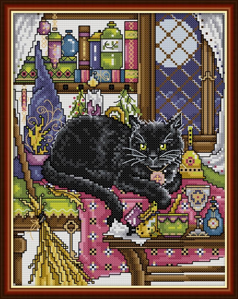 Black Cat cross stitch