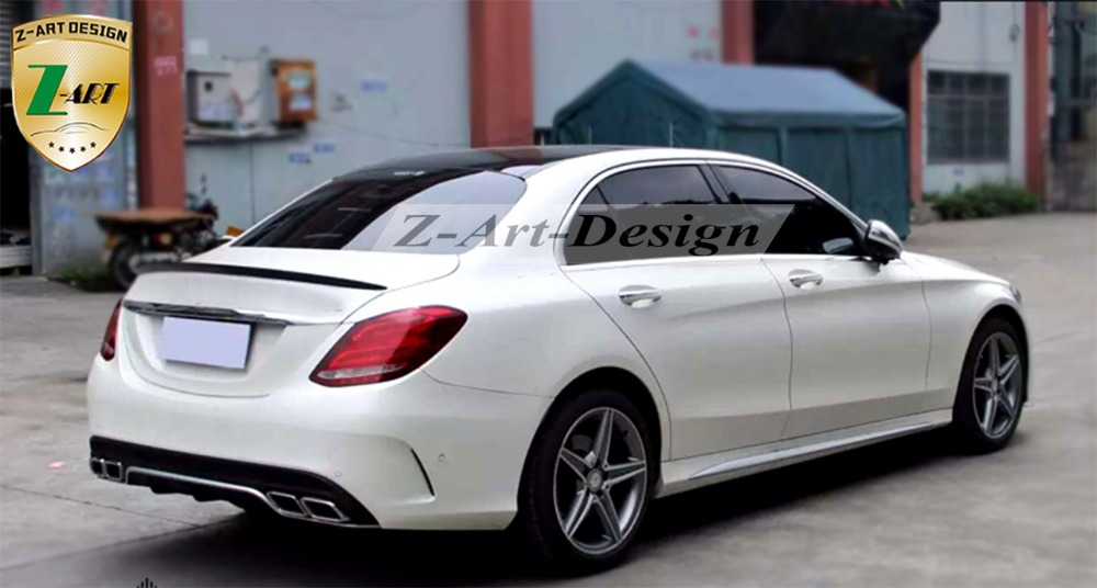 Pp Plastic Tuning Body Kit For Mercedes Benz C Cl W205 2017 Amg C63 Free Shipping In Kits From