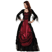 Gothic Sexy Costume Halloween Dress Costume Sexy Witch Vampire Costume Women Masquerade Party Halloween Cosplay Costume