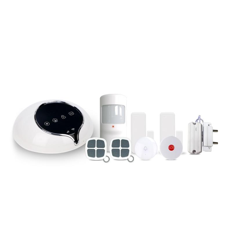 433mhz  Smart home security  3G   alarm system  APP control burglar alarm  system work with wireless water leakage detect sensor433mhz  Smart home security  3G   alarm system  APP control burglar alarm  system work with wireless water leakage detect sensor
