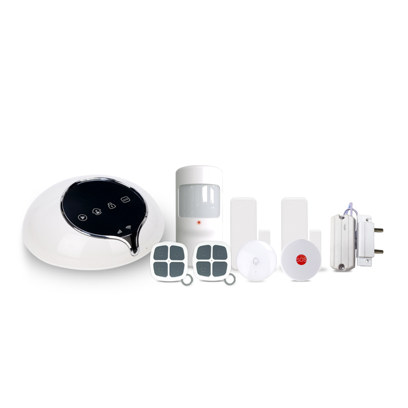 433mhz Smart home security 3G alarm system APP control burglar alarm system work with wireless water leakage detect sensor